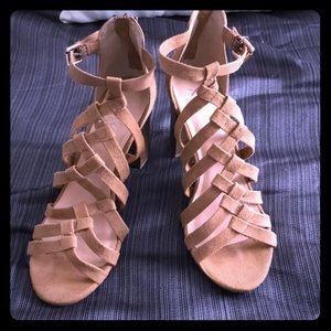 Xoxo block heel sandals size 8.5